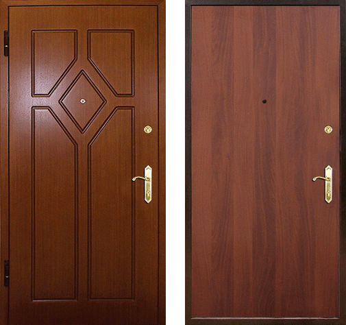 Входная дверь МДФ / Ламинат СП181