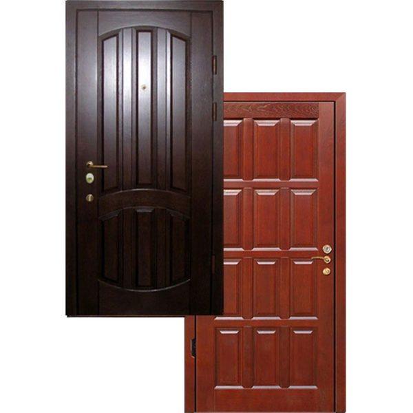 Дверь входная МДФ ФИЛЕНЧАТЫЙ + МДФ с терморазрывом трехконтурная СП306