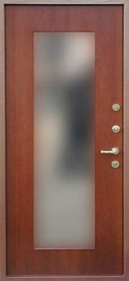 Входная металлическая дверь с зеркалом СП040